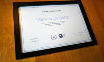 Google-Zertifizierung für codeaware