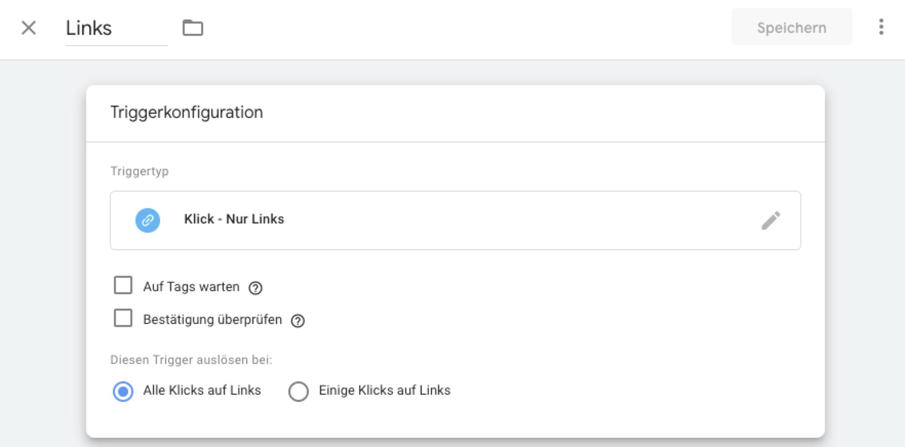 Google Tag Manager – Link Trigger